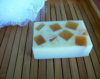 Soap goat milk and honey
