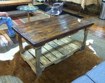 pallet coffee table reclaimed wood coffee table - Pallet Coffee Table