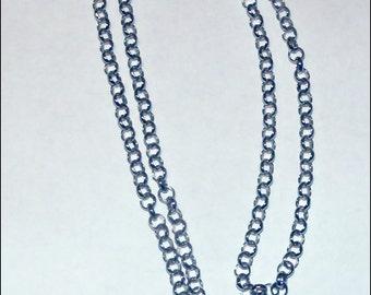 Silver Plate Rolo Chain