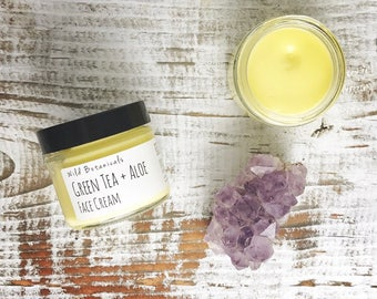 Green Tea and Aloe Face Cream
