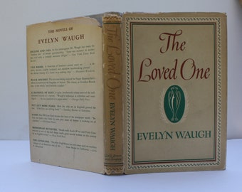 1st Ed. - The Loved One by Evelyn Waugh - Little Brown and Company 1948 - First American Edition