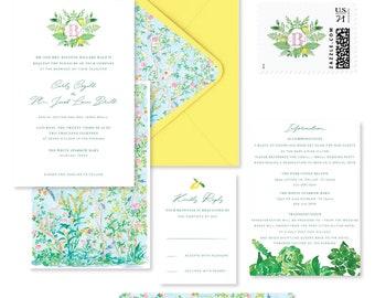 Brighter Days Wedding Invitation Suite *Sample