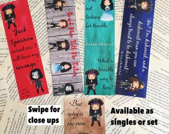 Pirates of the Caribbean Single Bookmarks