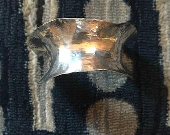 1981 925 Silver Cuff Bracelet