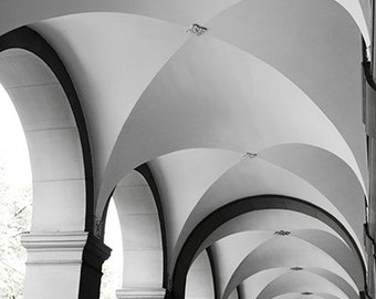 Travel Photography - Arches - Europe Photography - Dining Room Art - Artwork - Living Room Wall Art - Fine Art Photography - Way Print