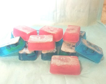 Kids Play Sparkle Soaps  6 Count