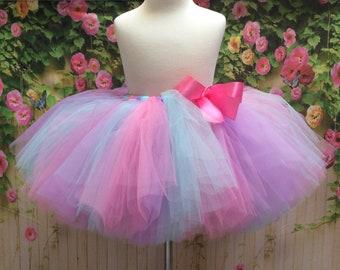Adult Tutu, Unicorn Tutu, Sewn Tutu, Sewn Tulle Skirt, Tutu, Dance Tutu, Pink Purple Blue, Bridesmaid Tutu, Birthday Tutu, Prom Tutu Skirt