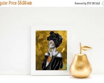 13% OFF SALE- PRINTABLE Art African Woman Art Afrocentric Art Afrocentric Decor African Print African Art African American Art African Gifts