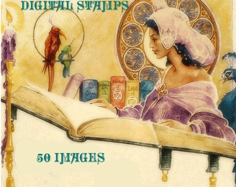 Once Upon A Time Digital Stamp Set