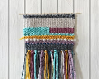 Sale! Large Woven Wall Hanging | Handmade Tapestry Weaving (1 of 3 in a series)