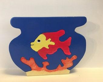 Fish bowl puzzle