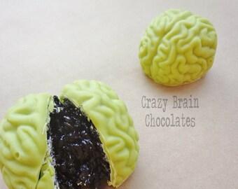 Zombie Brains (12) - Birthday - Wedding - Zombie – Chocolate