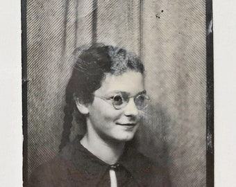 Original Vintage Photobooth Photograph | Julia