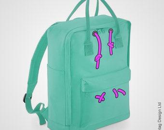 Vanellope Back Pack Candy Mint Green Hoodie Daypack Movie Film backpack Ralph Rucksack World Land Park Trendy Bag Retro Rucksack Holiday