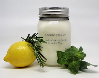 12oz Herb Garden Scented Soy Candle