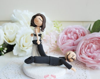 Custom Cake Topper- It's time to go!