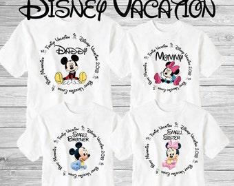 Family disney world shirts 2018, Disney Family Shirts, Matching Family Disney Shirts, Personalized Disney Shirts for Family  2018 des42