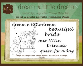 Clearance - Unity - Ippity Stamps - Dream a Little Dream