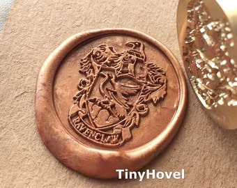 Buy 1 Get 1 Free - 1 pc The Ravenclaw crest (Rw2) - harry potter -  traditional copper products Handmade retro gifts Wax Seals Stamp(WS81)
