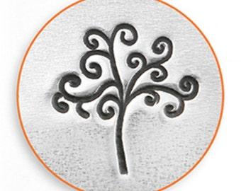 Impress Art 9.5mm Tree Of Life Metal Stamp Design Stamp  Decorative Stamp