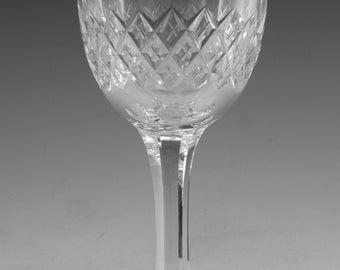 "TUDOR Crystal - CATHERINE Cut - Port Wine Glass / Glasses - 4 3/4"" - Cut Foot"