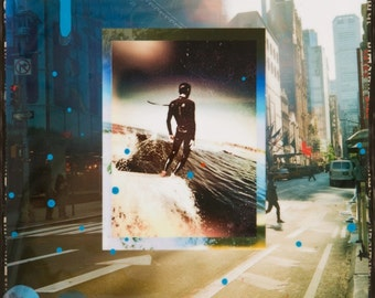 Reggae on Broadway Joel Tudor, 8x10, 11x14, 16x20, Matted Print, New York City, NYC, Bob Marley, Cityscape, Wall Art, City Art, Ocean art