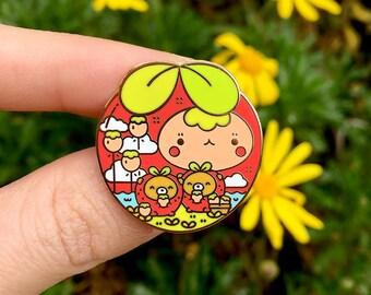 C-Grade Strawbearryarium Pin