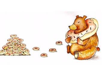 Bear in a Donut