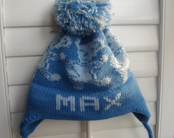 Personalized knit ht - Max or Owen