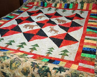 Wild Outdoors Bed Quilt