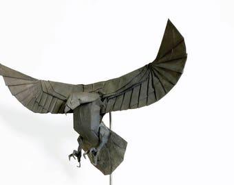 Origami Vulture