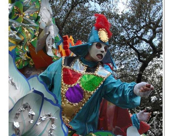 Carnival Masker Photo - Mardi Gras - New Orleans