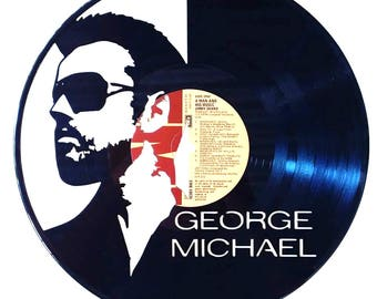 George Michael - Vinyl Record Art