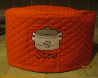 Oval Crock Pot,  Slow Cooker Appliance Cover 4 colors to choose from