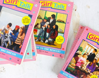 Girl Talk Lot Of 8 Paperback Books by L. E. Blair