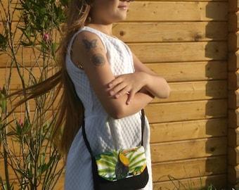 "The way ""summer handbag - Mapluce - Toucan"" for girl."