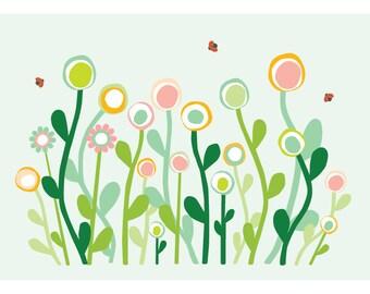 Flower card - Eco friendly