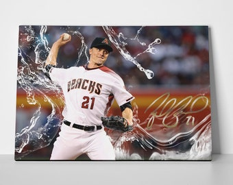 Zack Greinke Poster or Canvas