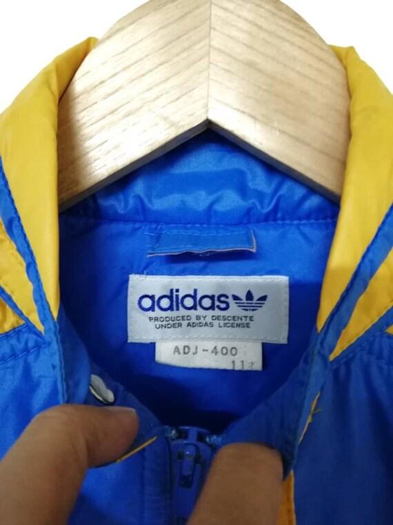 Fit in Multicolors Made Windbreaker Japan Vintage Jacket ADIDAS XS UXT5x0