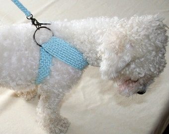 il_340x270.739340095_fmxj?version=2 crochet dog harness dog dress small dog clothes harness and