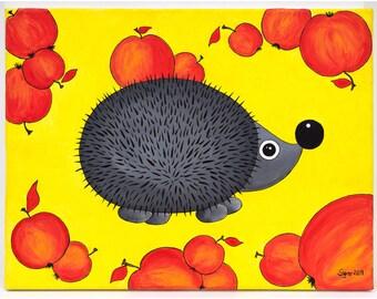 hedgehog pears