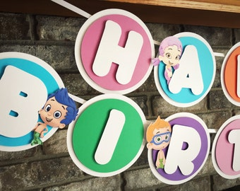Bubble Guppies Banner Bubble Guppies Theme Bubble Guppy