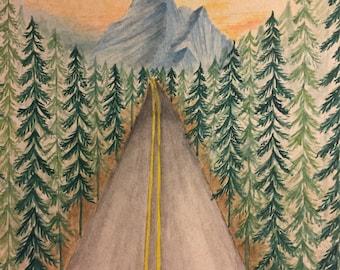 Mountain road trips