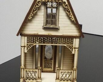 Little Ann Victorian Cottage 1:48 Scale Dollhouse