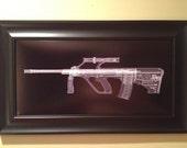 AUG A1  CAT scan gun print - r...