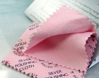 Silver Polishing Cloth - Town Talk Anti-Tarnish Soft Cotton - Jewellery Care | SilverCleaner