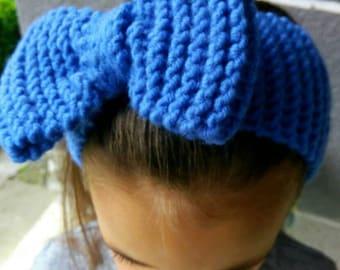Knit headband, knit ear warmer, winter headband, boho headband, hand knit headband, knit beanie,