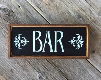 Bar Sign, Wood Signs, Bar Decor, Wall Sign, Home Bar Decor,