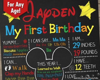 Mickey Mouse Birthday Printables Mickey Mouse Birthday