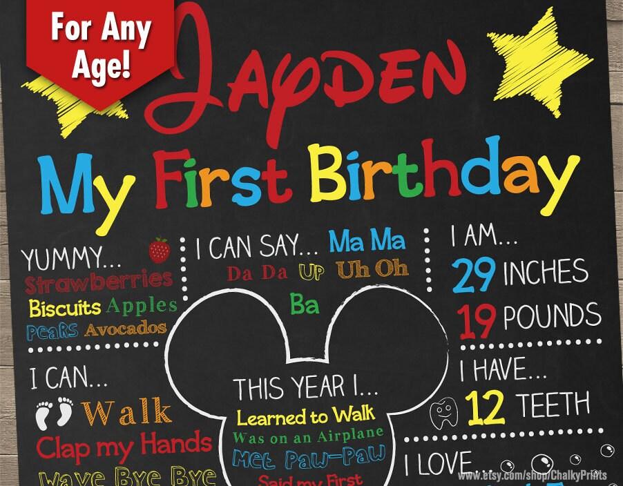 Mickey Mouse 1St Birthday Party Supplies Ireland Sao Mai Center